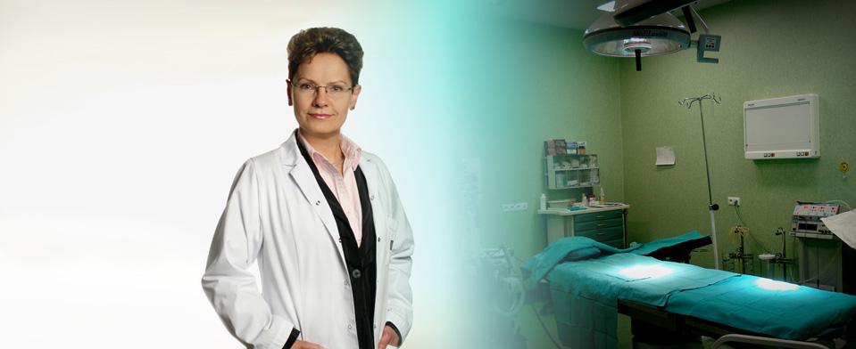 Specjalista chirurg i sala operacyjna