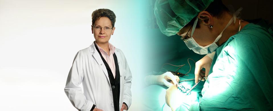 Lek. med. Elżbieta Bednarczyk - usuwanie żylaków
